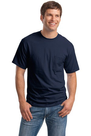 fantastic savings competitive price Sales promotion Hanes Beefy-T - 100% Cotton T-Shirt with Pocket. 5190 At ...